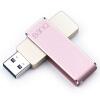 F50 128GB имеют удаленный USB3.0 цельнометаллический U-скорость вращающегося диска 360 Rose Gold kingston 128gb флеш диск usb3 1 dteg2 металлический корпус высокоскоростной автомобиль u скорость чтения диска 180mb s