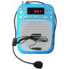 BAOX BX-K01 Портативный цифровой усилитель Blue Стандартный проводной микрофон Руководство для учителей микрофон blue microphones yeti usb