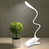 Супермаркет] [Jingdong светодиодных ламп освещение света сенсорного выключатель пункт зарядка лампа затемнение три секции современная и простая зарядка лампы белой лампы освещение