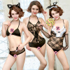 Личные вещи сексуальное женское белье комбинации кусок пижамы костюм ролевые игры Разнообразие Girl (кошачьи уши девушка невинный кролик + ласковый шарм) gopaldas uni plug розовый гладкая анальная пробка