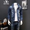 Playboy VIP (плейбой VIP Collection) HHGZ619 моды случайные Тонкий Джинсовая куртка мужской синий S playboy vip for her дезодорант 150 мл