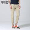 Мужская одежда Bosideng BOSIDENGMAN мужская корейская версия из девяти штанов брюки ноги девять штанов брюки 1262B19108 мелкая карта 33 цена