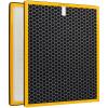 Набор Jiapei 290 (повышен) воздушного фильтра патрон фильтра НЕРА фильтр + активированный угольный фильтр адаптер TCL очиститель TKJ-F290A / TKJ-F290B белый + черный jiapei tcl 360 фильтрующие элементы воздушного фильтра комплекс подходящие для tcl 360 желтая