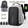 2017новый  Ноутбукрюкзак случайные противоугонные  школьная сумка c USB - порт зарядки рюкзак