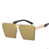 купить Мужские новые солнцезащитные очки UV400 Металлические защитные очки Ретро-рамка Солнцезащитные очки Мужская мода Внешний вид Солнцезащитные очки недорого