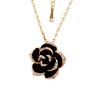 Yoursfs® 18K Белое золото покрыло кристаллическое ожерелье ожерелья розового ожерелья Используйте австрийское кристаллическое ожерелье способа