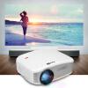 CHEERLUX Mini LED проектор 800x480 1200 люмен Домашний кинотеатр UK Plug cheerlux мини светодиодный проектор 800x480 1200 люмен 1200 1 hdmi usb vga av dtv eu