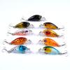 1PCS Наилучшие рыболовные приманки 1.8 -4.57cm / 0.142oz-4.03g рыболовные снасти 9color рыболовная приманка