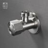 HIDEEP углового клапан из нержавеющей стали бессвинцовый горячий и холодный общий угловой клапан все цены