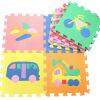 Матильда Развивающие игрушки PE экологичный детский  ковёр Детские противоюзовые подушки 30 * 30 * 1 см (9 шт) стриппер truper pe ca 9 17353