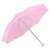 Райский зонт с высокой плотностью полиэфирный полиэфир, вращающийся три раза стальной стержень стальной зонт солнечный зонт 339S розовый зонты bisetti зонт