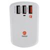 Moqi Si (Mokis) высоких частот QC3.0 быстрая вспышка rechargeyour головка зарядное устройство / USB зарядное устройство 3 / Apple адаптер питания Эндрюс телефон белый планшет zus qc