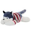 Подавленный свинья плюшевой игрушки День Святого Валентина подарок праздник подарок кукла кукла мило красный серый свитер раздел Papa собака хаски подарок на день рождения 90см кукла yako m6579 6