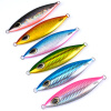 1PC Jigging Lure Lead fish 180G / 11.5CM Metal Jig Fishing Lure Paillette Knife Wobbler Искусственный жесткий лазерный луч dhl eub 5pcs new original for omron d4n 2a20 limit switch 15 18