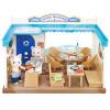 Sambler семья японский бренд принцесса игрушка девочка кукла дом моделирования лес семья семья дом магазин дом - приморский ресторан набор SYFC41908