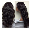 8A Wavy Glueless Full Lace Human Hair Wigs For Black Women glueless full lace human hair wigs