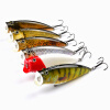 1pc Sunlure Brand Fishing Lure 3.74 -9.5cm Рыболовные снасти 16.65g Поппер Lure Set 6 Color Fishing Bait 4 # Hook