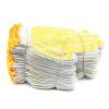 Фадж Ланкастер (Forgestar) 10-контактный пластик скольжения желтые точки хлопка перчатки 230мм (12 вспомогательный аппарат) анти комплект,