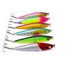 1PC Top рыбалка приманки 6 цвет рыбалка Приманки дизайн 2,8 -7 см / 10,8 г-0,38 унция рыболовные снасти 8 # крючок