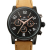BELBI Casual Chronograph Sports Men's Watches Top Brand Luxury Quartz Watch Clock Reloj Hombre 2016 Leather Strap Wristwatches 2017 classic new brand simple style top famous luxury brand quartz watch women casual leather watches hot clock reloj mujeres