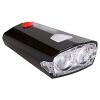Ди Lushi (DEROACE) USB перезаряжаемые фонарик фары блики велосипеда огни мертвая муха горный велосипед езда оборудование аксессуары задний фонарь водонепроницаемый