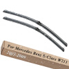 Wiper Blades for Mercedes Benz E-Class W211 26&26 Fit Side Pin Arms 2003 2004 2005 2006 2007 2008 2009 1998 2005 year for mercedes benz w163 ml320 ml350 ml430 ml450 head lamp silver lf