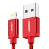 Зеленый с сертификацией MFI 6 / 5s / 7 Apple, кабель для передачи данных телефон зарядное устройство USB линия питания поддержки iphone5s / 6s / 7P / SE / Ipad про / воздух 1 Ми 40479 красный mk original mfi сертифицирован для iphone кабель usb upgrade 1 м короткая быстрая зарядка usb кабель для iphone 6s 6 плюс 5 5s mfi