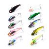 1pc Fishing Lure 4.2cm-1.7 /0.15oz-4.02g Mini VIB Приманка для рыбалки приманки 12 # Hook Fishing Sackle
