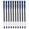 цены Мицубиси (Uni) УМ-100 гель экономичная и практичная (сине-черный) 0,5 мм (10 палочек)