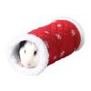 Wo Зай Зай Ji малые домашние животное шиншилл небольшого животного ежа гнездо одноканальной Голландия туннельной крыса гнездо теплой красной игрушки горное гнездо
