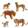 SURPRESA V, Animal Set Toy Gift for Kids,  The Leopard family, 5pieces of one set surpresa v diffusers