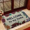 американский сайт (LIDIMEI) тряпка приветствовать коврик гостиной цвет светло-бежевый шелк круг мат фон зеленый дно 45 * 75см ПВХ сетки колодки