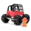 Хао Юань джипа модель игрушки детские образовательные детские игрушки автомобиль маленький мальчик опилками охрана окружающей среды