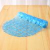Astra премьер булыжник нескользящей коврики для ванной ванной душ коврик 36 * 69см синий