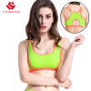 Gym High Quality Bandage Sports Bra Women Fitness Running Bra Tops Exercise Brand Yoga Vest Shockproof Sport Tank Tops fitness workout clothing and women s gym sports running girls slim leggings tops women yoga sets bra pants sport suit for female