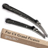 Wiper Blades for Citroen C4 Grand Picasso Second Generation 32&30 Fit Push Button Arm 2014 2015 2016 2017 очки корригирующие grand очки готовые 4 0 g1178 c4