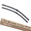 Wiper Blades for Mercedes Benz S-Class W220 Saloon 27&27 Fit Side Pin Arms 2000 2001 2002 2003 2004 2005