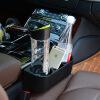 Китай разрыв украшения автокресло с держателем стакана воды автомобиль перчаточный ящик перчаточный ящик творческий мусорный ящик для хранения ящик автомобиля черный