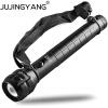 Яркий зум Алюминиевый сплав Ручной свет Перезаряжаемый тактический 5W LED T6 фонарик для полиции, охоты, кемпинга, наружного освещ