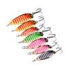 1PC Top Fishing Fishing Lures 7 цветов рыболовные снасти 3-5-7,5 г металла Приманка рыбалка приманки 6-8-10 # высокой углеродистой крючок ложка приманки