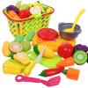 развивающие игрушки Niuqi детские в корзине из фруктов и овощей моделирования играть дома игрушки серьёзность музыка