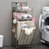 (Супермаркет Jingdong) Ou Runzhe корзина корзины многофункциональная напольная одежда корзина для хранения стиральная машина ванная полка стиральная машина siemens wm 10 n 040 oe