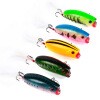 1PC Hard Fishing Lures 5.7cm-2.24 /10.42g-0.37oz Crank Bass Bait 10 Color Fishing Tackle 8 # High Carbon Hook Fishing Baits