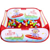 Детского набор мяча бассейна Fisher Fisher-Price (морские Шаровые младенцы и маленькие дети, содержащих 100 игрушки, манежи шар) красный F0317-1 игрушки сортировщики fisher price fisher price