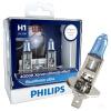 Philips (Филипс) Обновление Light Blue Star из автомобильной H4 лампы цветовой температуры 4000K средства 2 philips she3900bl 51 blue