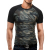 Brand Men'S T Shirt 2017 Summer Splicing Fashion O-Neck Short-Sleeved Tees Male Casual T-Shirt Slim Male Tops Tees DD01 stylish metal full frame black sunglasses for women aviator