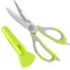 100 Run Bairun Нержавеющая сталь Многофункциональные ножницы для кухни Кухонные ножницы Ножницы Ножницы для рыбы BR1284