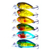 1pc Топ-Рыболовные снасти 14 # Браун Крюк Рыбалка Приманки 6 цветов Рыбалка Приманка vanker культуры формы рыб ловить рыбу металла рыболовные приманки рыболовные снасти crankbait комплект х5