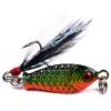 2017 Новое прибытие Новый рыболовный снаряд Lead Fishing hard Bait 6.4g 4 цвета Приманка для рыбалки