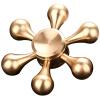 Savage долина меди создать творческий палец гироскопа гироскопа игрушки палец пальцы спиральную прецизионные подшипники EDC Torqbar Brass роскошь золото каплю